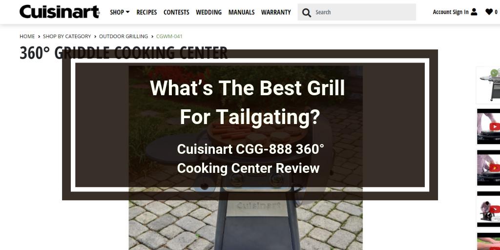Cuisinart CGG-888 360° Cooking Center Review