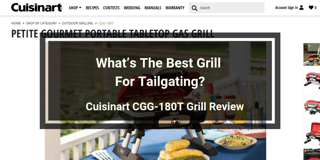 Cuisinart.CGG-180T.Grill.Review