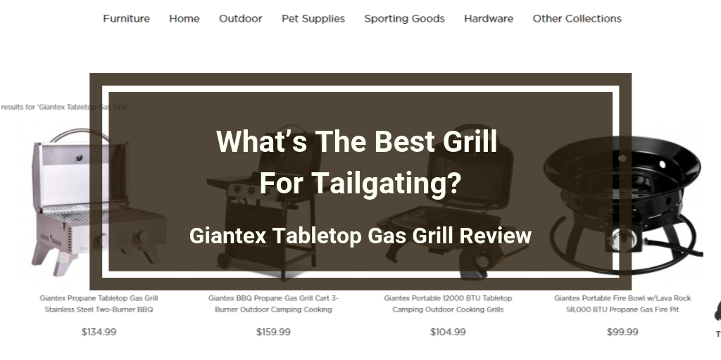 Giantex Tabletop Gas Grill Review
