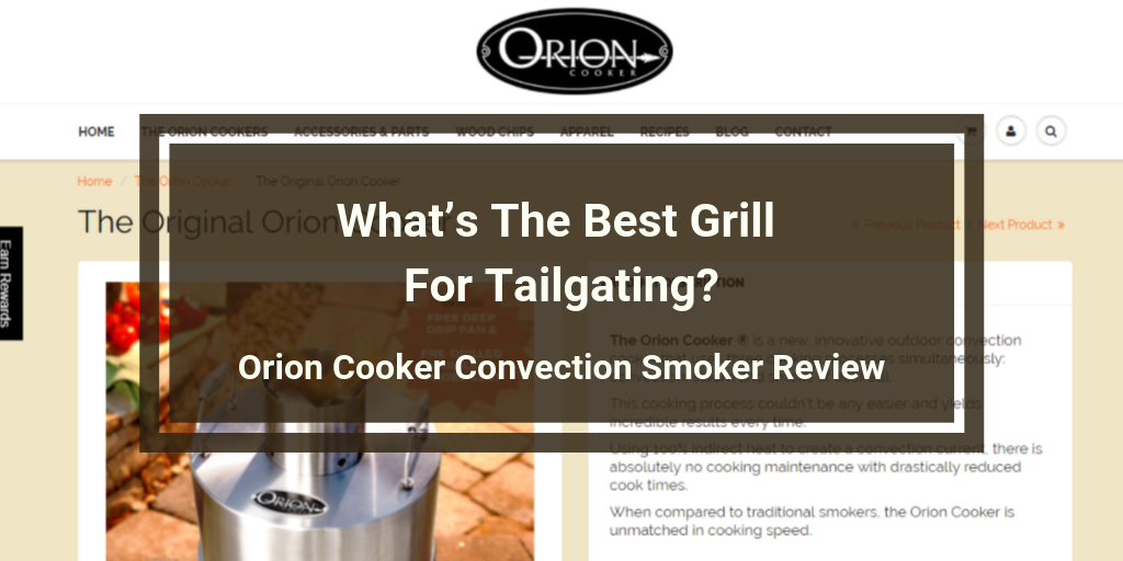 Orion Cooker Convection Smoker Review