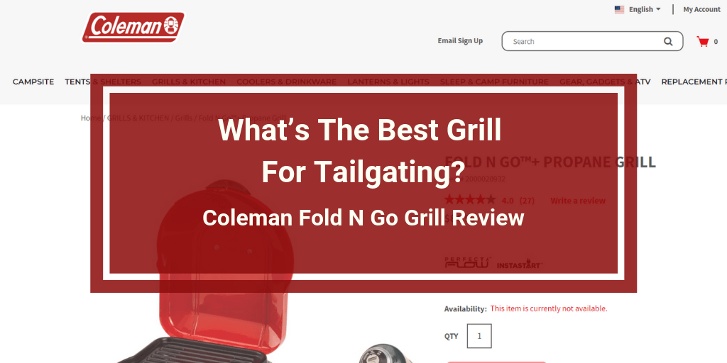 Coleman Fold N Go Grill Review