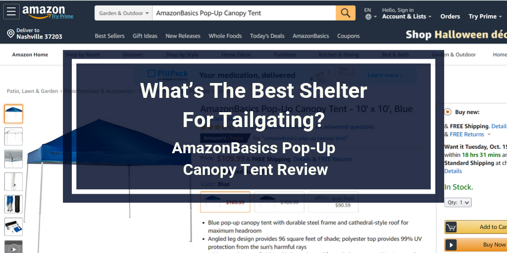 AmazonBasics Pop-Up Canopy Tent Review (3)