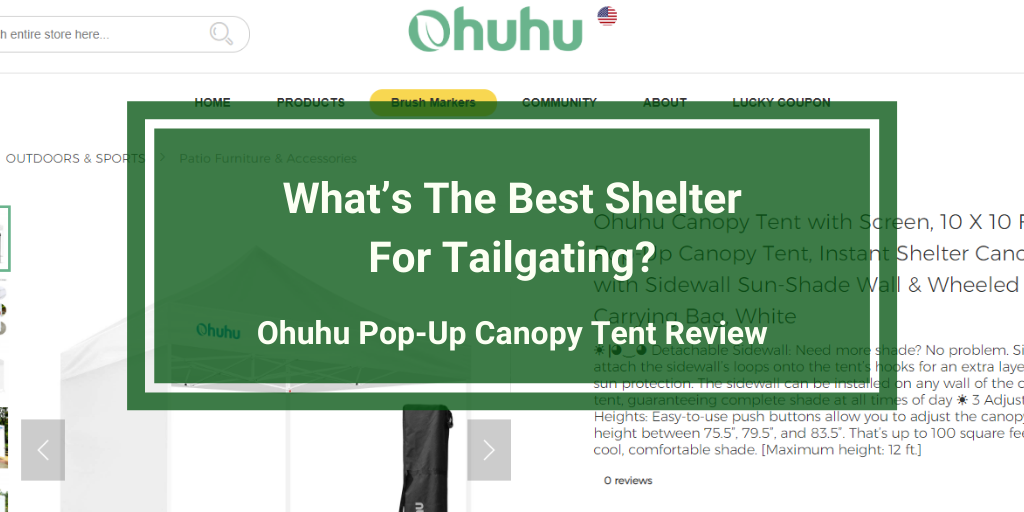 Ohuhu Pop-Up Canopy Tent Review