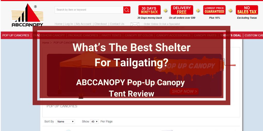 ABCCANOPY Pop-Up Canopy Tent Review