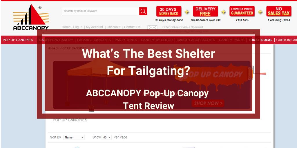 ABCCANOPY Pop-Up Canopy Tent Review