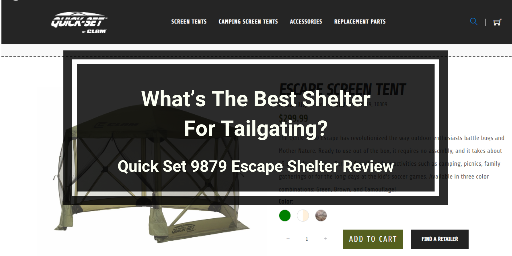 Quick Set 9879 Escape Shelter Review