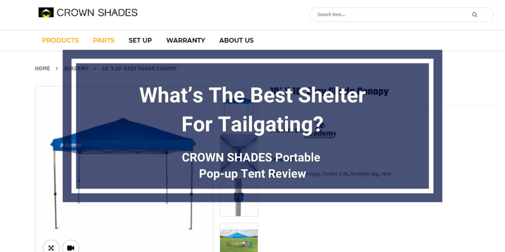 CORE 10x10 Instant Canopy Review (1)